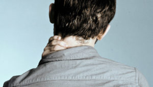 back of man's head