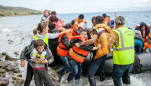 migrants and refugees arrive in Kos