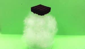 graphene structure on aerogel