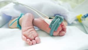 infant's feet