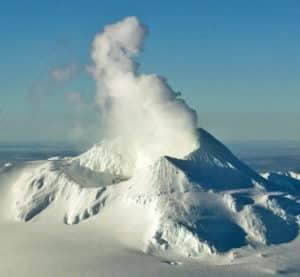 Katmai volcano