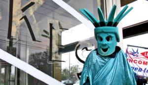 liberty tax mascot