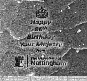 birthday message to queen on Corgi hair