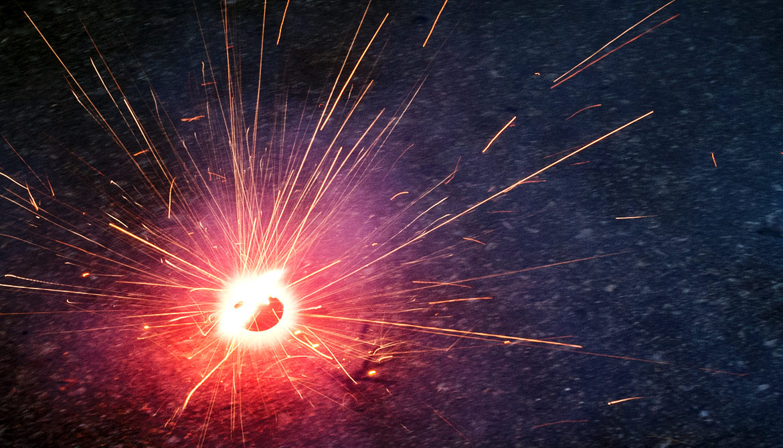 size of zinc spark reveals best egg for ivf