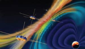 MMS spacecraft illustration