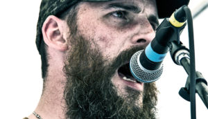 beardy man sings