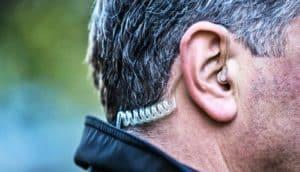 earpiece - homicide investigator