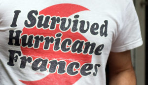 I survived hurricane Frances shirt