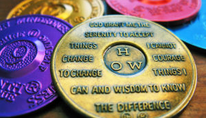 serenity prayer on AA tokens