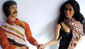 Sonny and Cher dolls