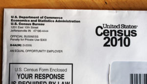 2010 Census form