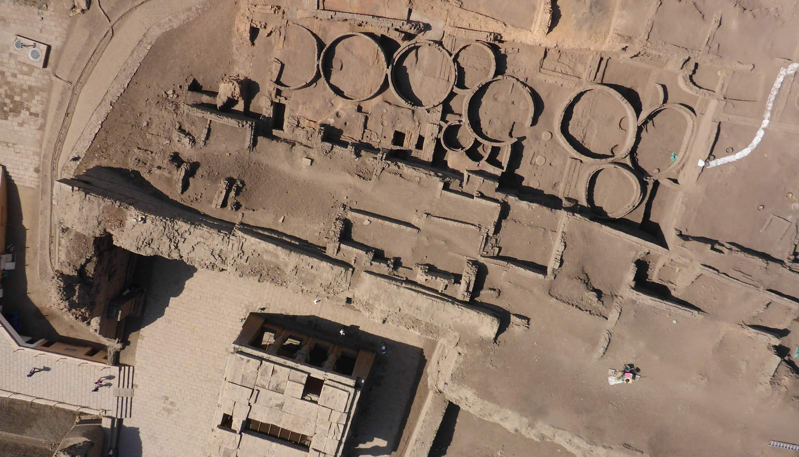Tell Edfu aerial view