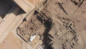 Tell Edfu aerial view