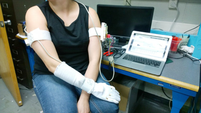 wearable device for stroke rehab