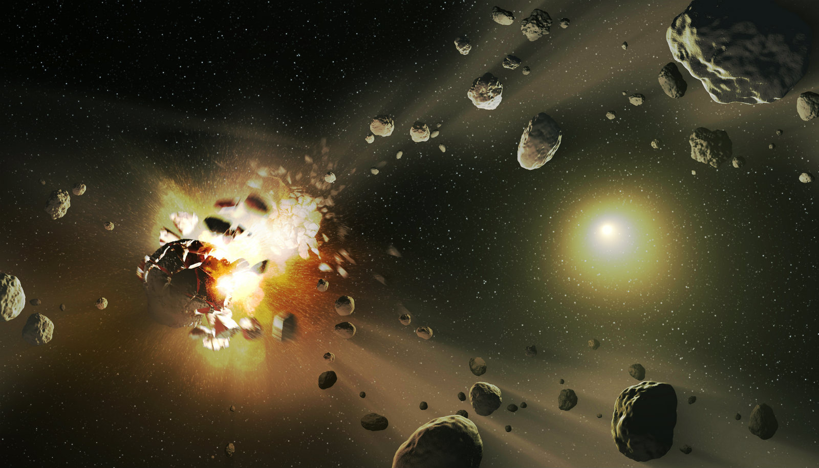 Did asteroid crash cause Earth's rarest structure?