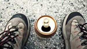 beer between boots