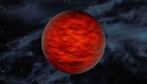 brown dwarf star