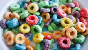 bowl of Froot Loops