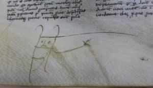 medieval doodle