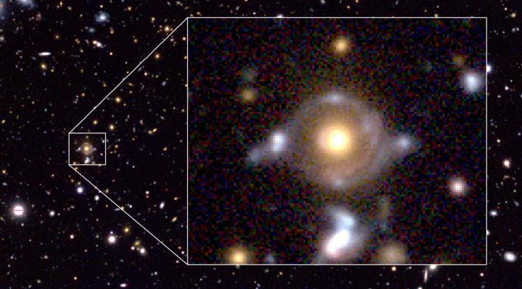 Eye of Horus galaxies