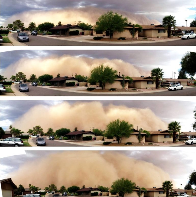 dust storm haboob
