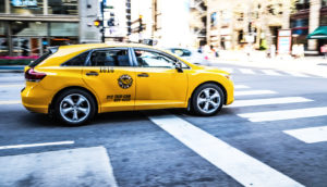 taxi in Chicago