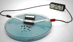 dissolving battery
