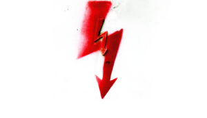little red arrow in big red arrow