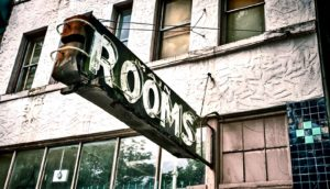 SRO rooms signs