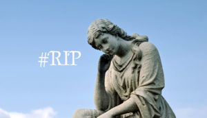 mourning statue #RIP