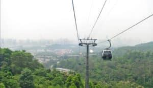 smog over Guangzhou