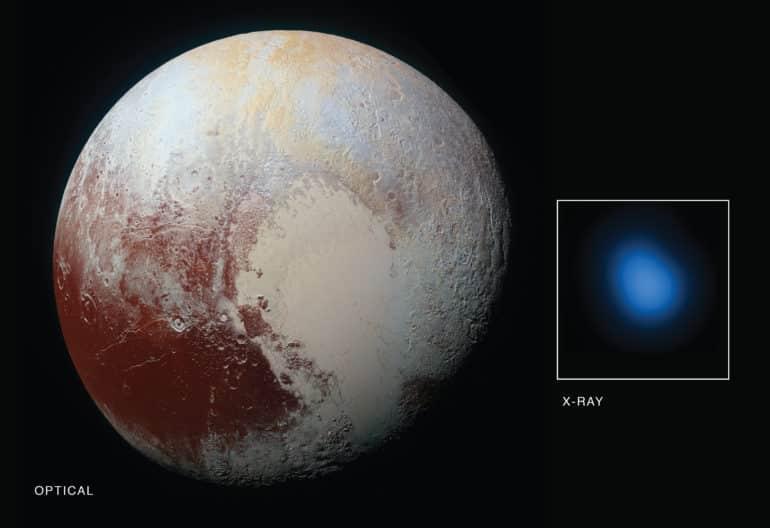 Pluto x-rays