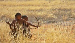 San men in Namibia