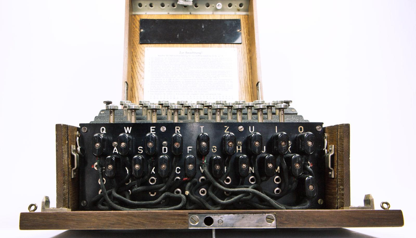 The Enigma Machine has gone quantum