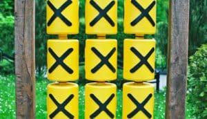 x on tic-tac-toe game
