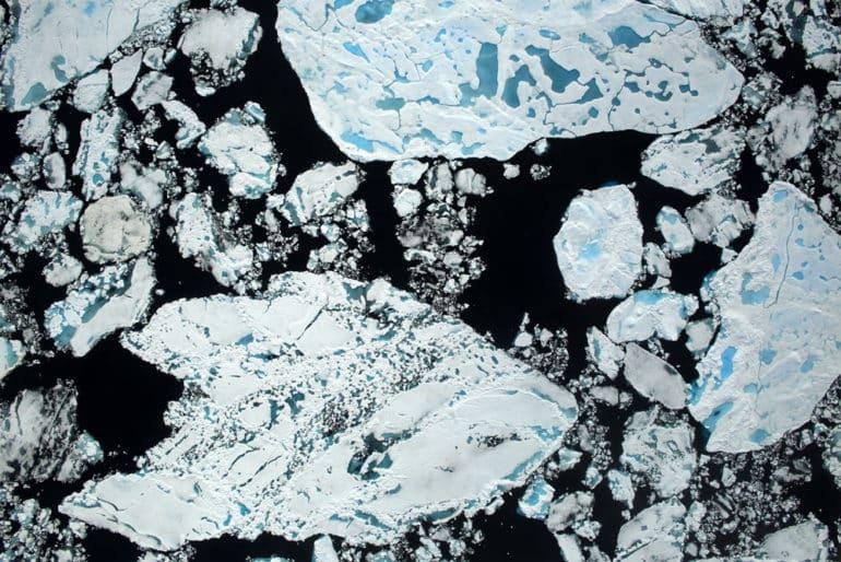 sea ice via NASA