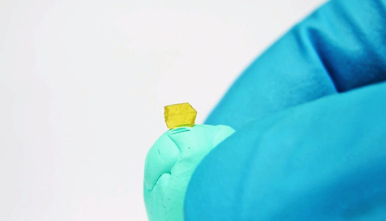 yellow self-healing crystal