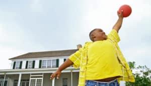 boy in yellow shirt