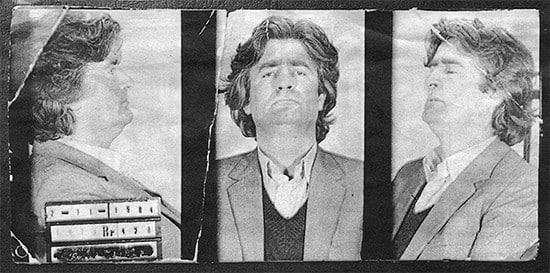 Radovan Karadzic mug shots