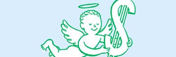 angel money illustration