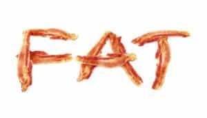 bacon spells FAT