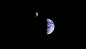 moon in orbit around Earth