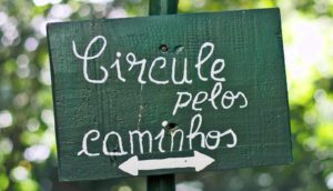 Portuguese on sign