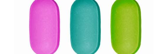 3 medication capsules