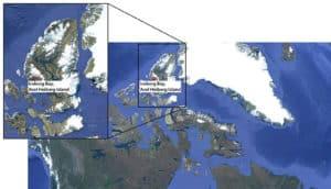 Iceberg bay map
