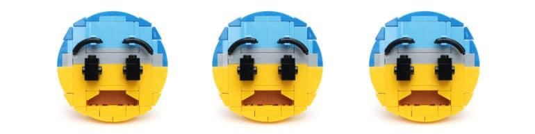 scared lego emoji