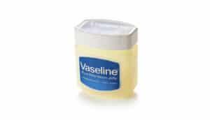 tub of vaseline