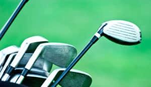 metallic glass as in golf clubs