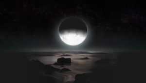 moonlight from Charon