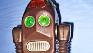 serious robot companion